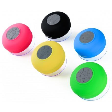 Vattentät högtalare med sugpropp + Handsfree