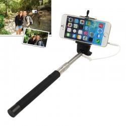 Selfiepinne med aux-kabel