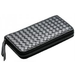 Flätad clutch mobilplånbok