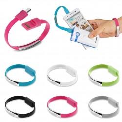 USB-kabel armband (micro-USB)