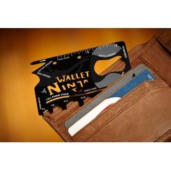 Ninja Wallet - multiverktyg med 18 verktyg i 1