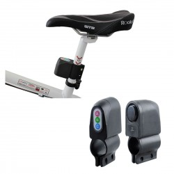 Cykellarm med rörelseaktivering