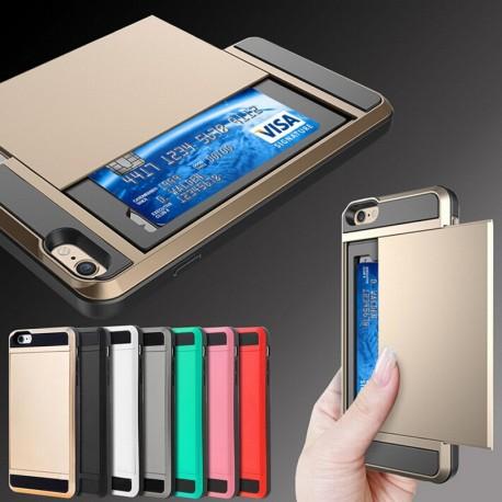 Skal och skydd till iPhone 6 med korthållare