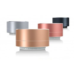 Bluetooth högtalare A10 i kromad design