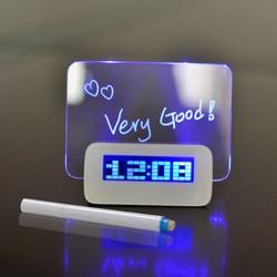 LED Meddelande Alarm / Väckarklocka