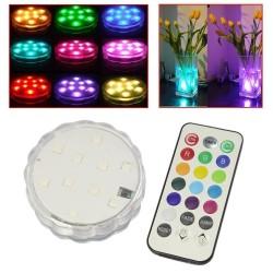 LED lampa - vattentät med fjärrkontroll