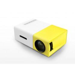 LCD Projektor och multimediaspelare till mobil, platta, minneskort mm