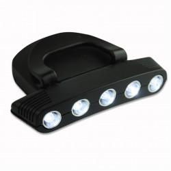 5 LED Cap light med clip