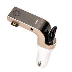 Stilren FM-sändare med bluetooth till bilen