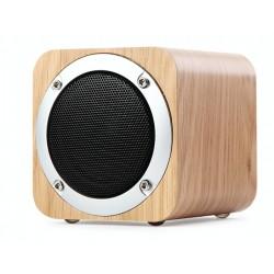 Snygg bluetooth högtalare i trä design