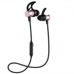 Sport Bluetooth hörlurar med inbyggd magnet