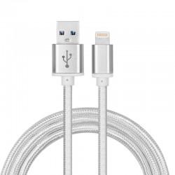 3 meter lång USB-kabel MFI certifierad