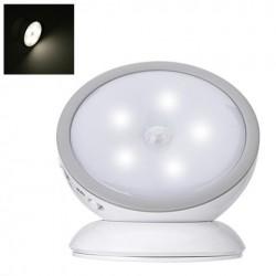 LED-lampa batteridriven 360° roterbar med rörelsesensor