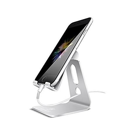 Universalt stativ till samtliga mobiltelefoner i aluminium 270° vridbar