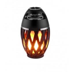 Eldflammande LED Bluetooth högtalare