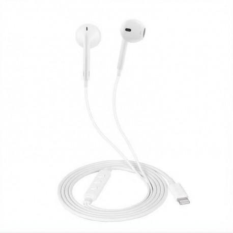 iPhone hörlurar MX-800 med lightningkontakt