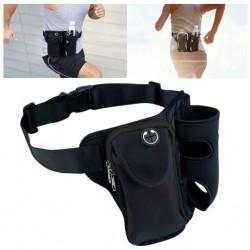Vandringsbälte / joggingbälte med plats för mobil, vattenflaska mm