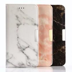Plånboksfodral i trendig marmor finish