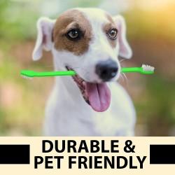 Dubbelsidig Hund-Tandborste 2-pack