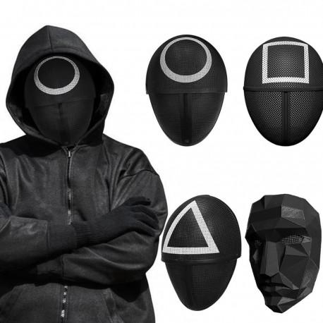 Squid Game Mask Round Square Triangle