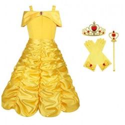 Princess belle dress