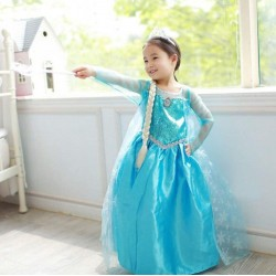 Princess Klänning Elsa