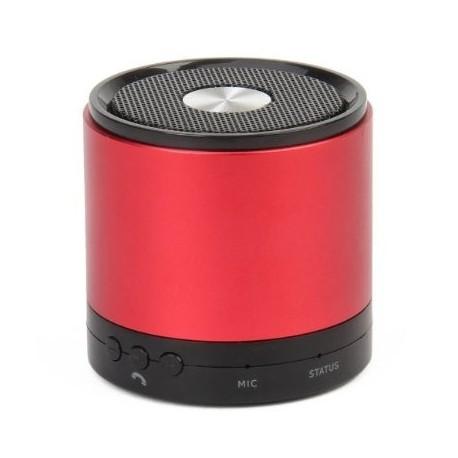 Portabel Bluetooth Högtalare + MIC - RÖD