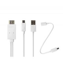 MHL till HDMI KIT till Smartphone och surfplatta