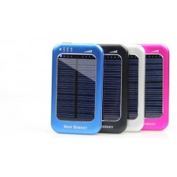 Solcellsladdare 4000 mAh iPad/iPhone/Samsung etc