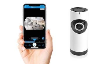 Fish-eye kamera med live streaming APP
